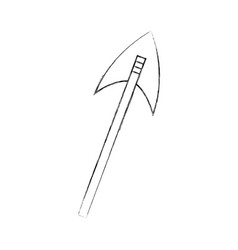 antique arrows isolated icon vector image vector image