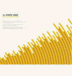 abstract mesh dash yellow with black stripe lines vector image