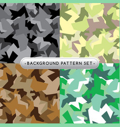 background pattern set collection vector image
