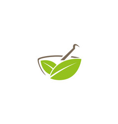 Creative traditional pharmacy logo design symbol vector