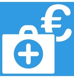 Euro Medical Payment Icon vector