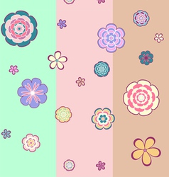 flower texture vector image