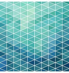 geometric pattern with geometric shapes rhombus vector image