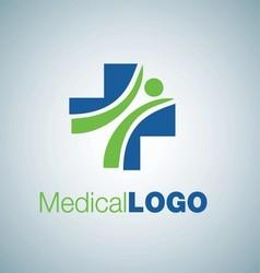 Medical logo 1 vector