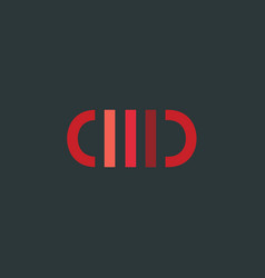 medicine logo pill icon vector image