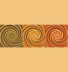 pumpkin sauce halloween pumpkin colors spiral vector image