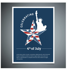 usa indpendence day design vector image