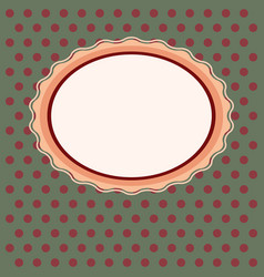 vintage window background vector image