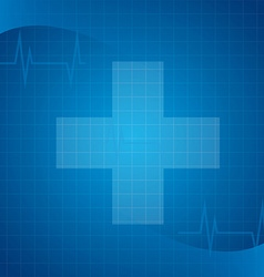 medical healthcare vector image vector image
