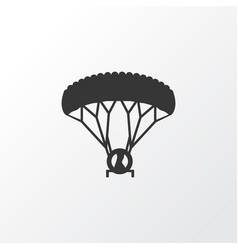paraplane icon symbol premium quality isolated vector image