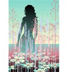 pastel beauty vector image vector image