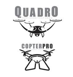 quadrocopter vector image vector image