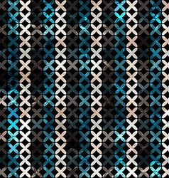 Abstract lines grunge seamless pattern vector