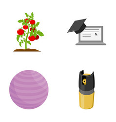 Cooking training and other web icon in cartoon vector