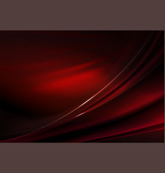 Elegant dark background of red hue with smooth vector