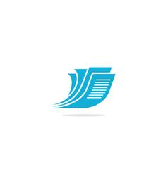 paper document logo vector image