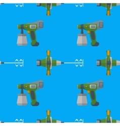 spray mixer seamless pattern vector image