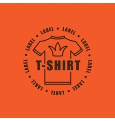 T-shirt sign icon Clothes symbol Business vector