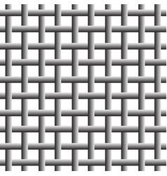 Trellis grid mesh background overlapping weaved vector