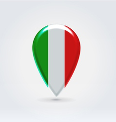 Italian icon point for map vector image vector image