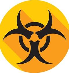 Hazard Icon vector image vector image