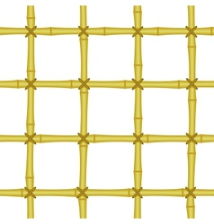 bamboo grating lattice seamless background vector image