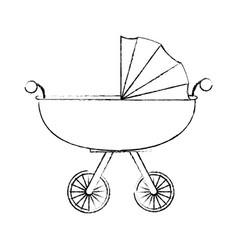 car for baby cartoon vector image