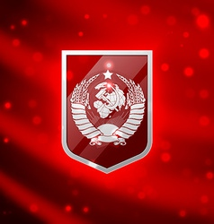 Coat of arms Soviet Union vector