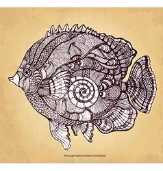 Decorative fish vector