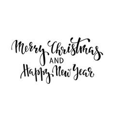Happy holidays hand drawn creative calligraphy vector