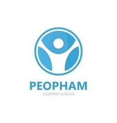 man logo Man logo design People logo vector image