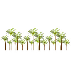 Palm trees for your business vector