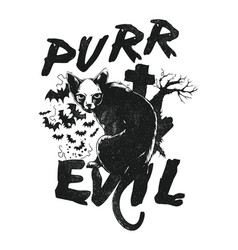 Purr evil vector
