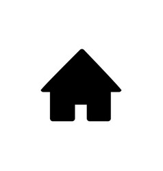 Web page home icon vector