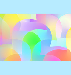 Abstract color shape creative modern cover vector