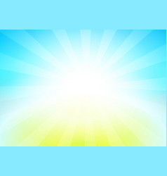 nature landscape of blue sky vector image