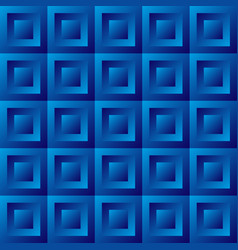 Abstract background blue tiles vector