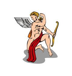 Angel Cupid Bow vector