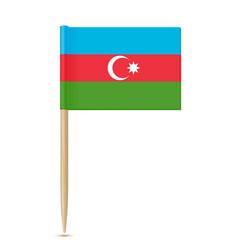 azerbaijan toothpick vector image
