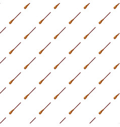 Broom pattern vector