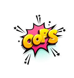 comics text advertise phrase sale pop art vector image