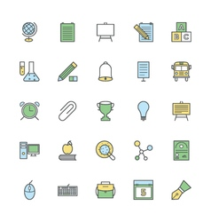 Education Bold Icons 2 vector
