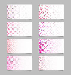 geometric diagonal square mosaic pattern card vector image