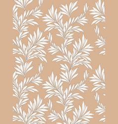 Leaves pattern leaf seamless backgound floral vector