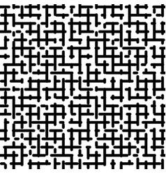 Maze seamless pattern vector
