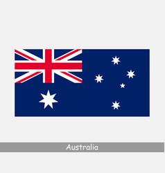 National flag australia australian country flag vector