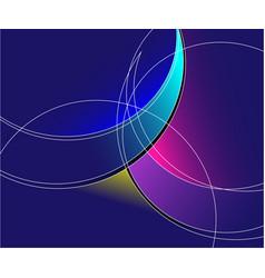 Spectacular luminous abstract backgrounds logos vector