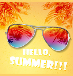 summer hot background vector image