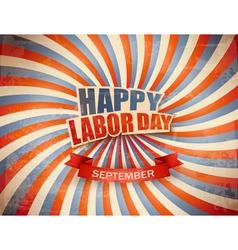 Labor day celebration background vector