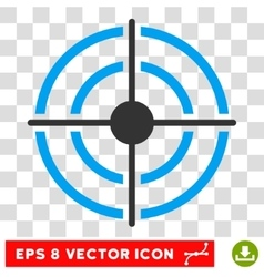 Target Eps Icon vector image vector image